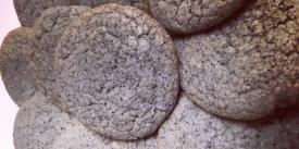 Ute Blue Corn Sugar Cookies